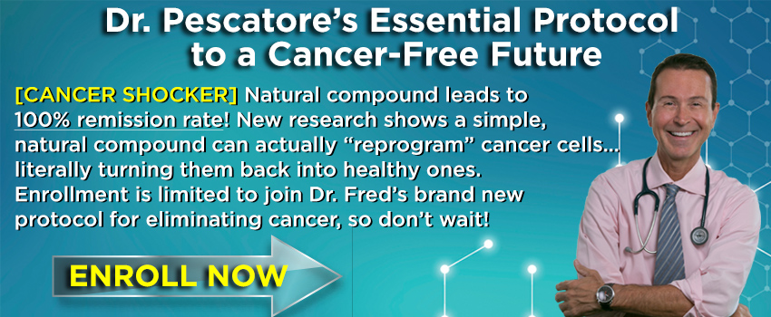 Dr. Pescatore's Essential Protocol to a Cancer Free Future