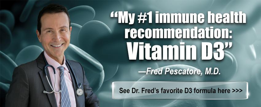 My #1 Immune Health Recommendation: Vitamin D3